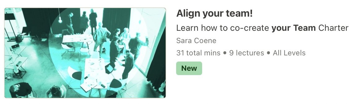 Align your team course